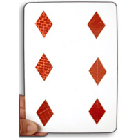 Jumbo Pip Card (DLX) by Uday - Trick
