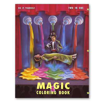 Large Coloring Book (Magician) by Uday - Trick
