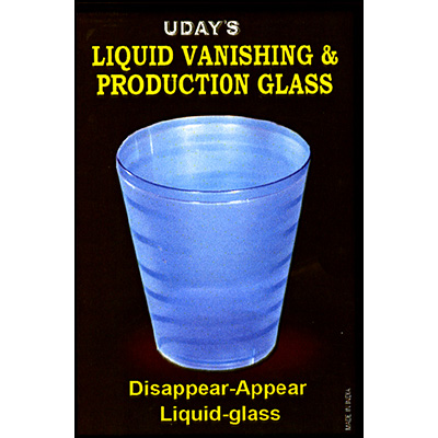 Liquid Vanish & Production Glass by Uday - Trick