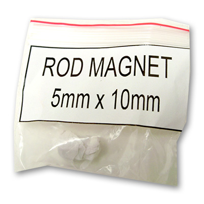 Magnets - Rod Magnet 5Mm X 10Mm by Uday - Trick