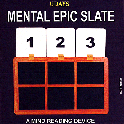 Mental Epic Slate by Uday - Trick