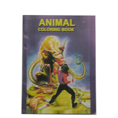 Micro Coloring Book (Animal) 4x6 pulgadas - Uday