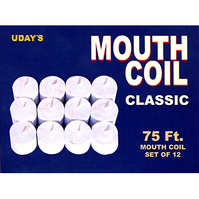 Mouth Coil Classic 75 feet (White #12) by Uday - Trick
