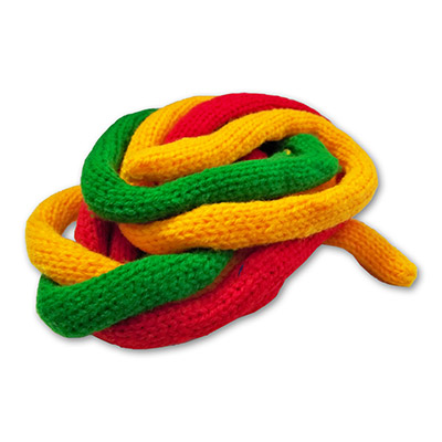 Multi Color Rope Link Deluxe (Wool) by Uday - Trick