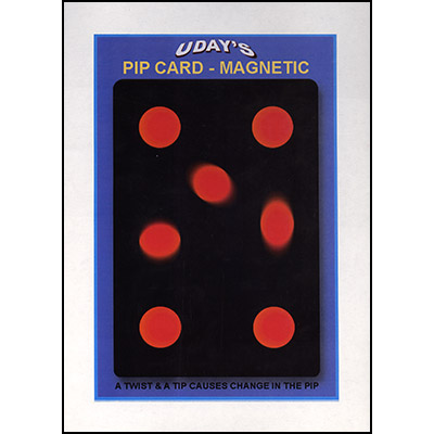 Pip Card (Magnetic) by Uday's Magic World - Trick