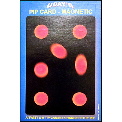Pip Card Magnetic Small by Uday - Trick