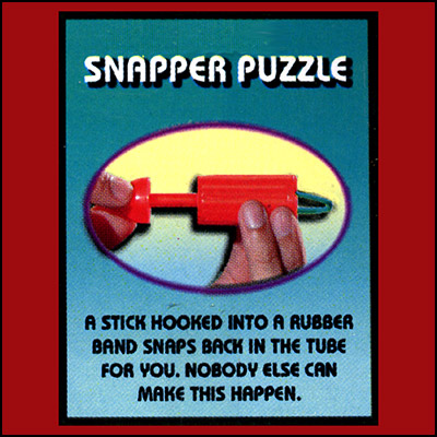Plastic Snapper Puzzle by Uday - Trick