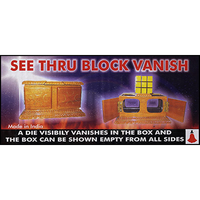 See Thru Block Vanish by Uday - Trick