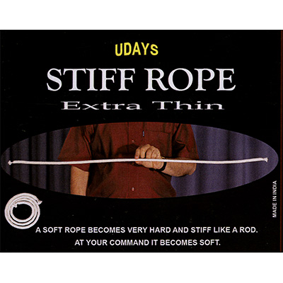 Stiff Rope-Extra Thin by Uday - Trick