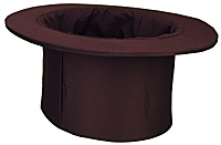 Top Hat Collapsible Uday (Black)