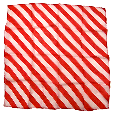 "15"" Zebra Silk RED by Uday - Trick"