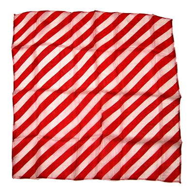 "18"" Zebra Silk ( Red & White ) by Uday - Trick"