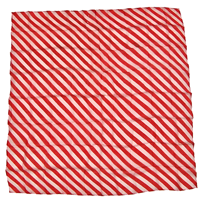 "36"" Zebra Silk( Red & White ) by Uday - Trick"