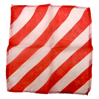 "6"" Zebra silk ( RED & WHITE ) by Uday - Trick"