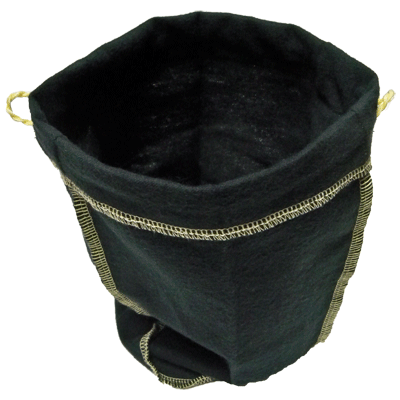 Felt Bag (Black, Ungimmicked) - Trick