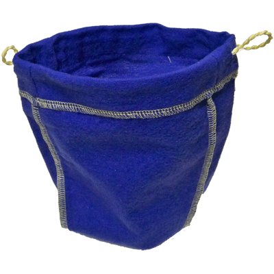 Felt Bag (Blue, Ungimmicked) - Trick