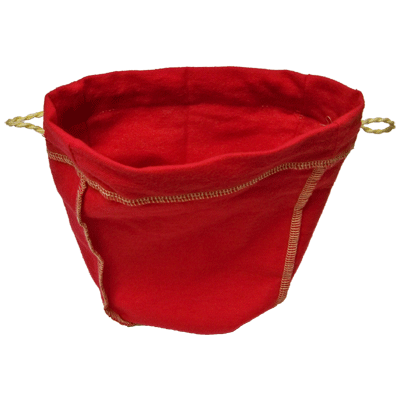 Felt Bag (Red Ungimmicked) - Trick