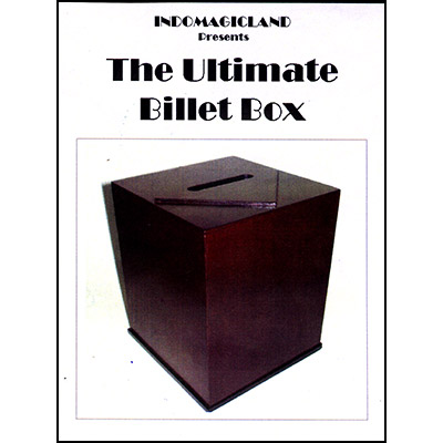 Ultimate Billet Box by Indomagic Land - Trick