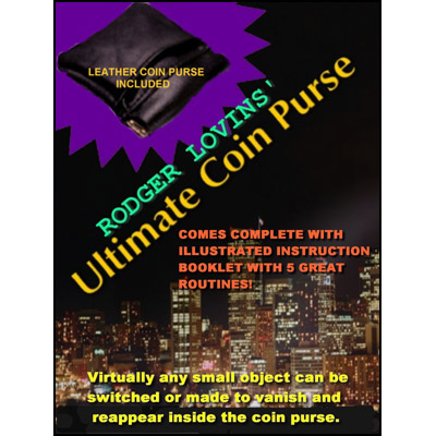 Ultimate Coin Purse by Rodger Lovins