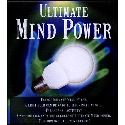 Ultimate Mind Power (SILVER, XL-23mm)by Perry Maynard - Trick