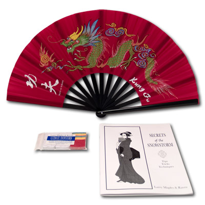 Secrets of the Snowstorm (Set)-(With Fan and Book) - Trick