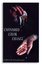 Unfinished Color Change by Christopher Gustin & Cornerstone - Trick