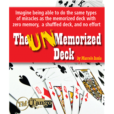 Unmemorized Deck by Marcelo Insúa - DVD