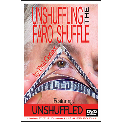 Unshuffling The Faro Shuffle by Paul Gertner (Deck and DVD) - Trick