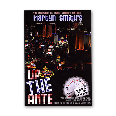 Up The Ante by Martyn Smith and The Merchant of Magic - Book