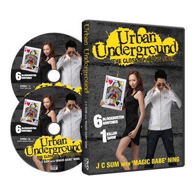Urban Underground (2 DVD set) - JC Sum with Magic Babe Ning - DVD
