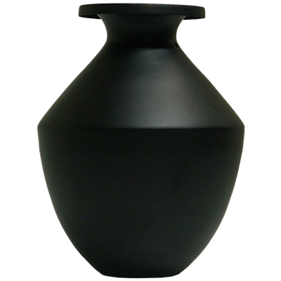 The Vampire Lota Vase (Black Mat Finish) - Trick