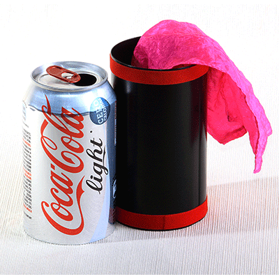 Vanishing Diet Coke Can by Bazar de Magia