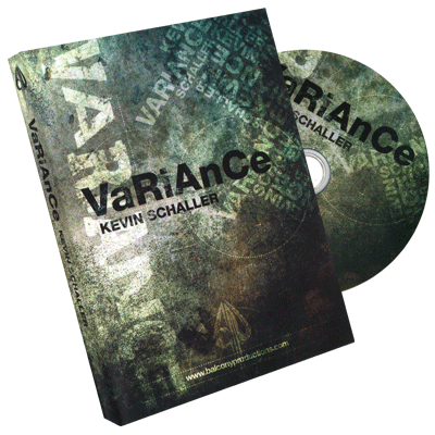 Variance - Kevin Schaller & Balcony Productions - DVD