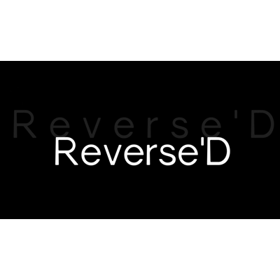 Reverse D by Lyndon Jugalbot Rich Piccone and Tom Elderfield Video DOWNLOAD