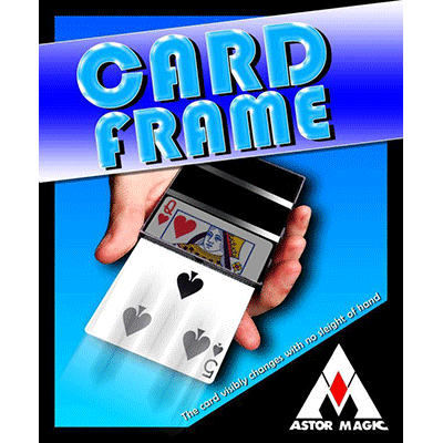 Visible Card Frame by Astor - Trick