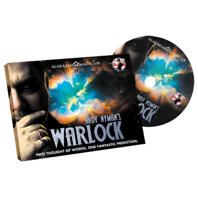 Warlock (DVD and Gimmicks) by Andy Nyman & Alakazam - Trick