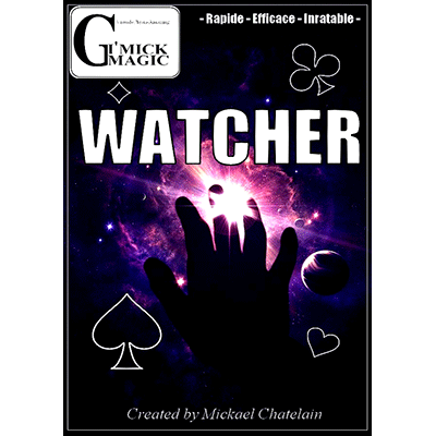 Watcher (BLUE DVD and Gimmick) by Mickael Chatelain - DVD