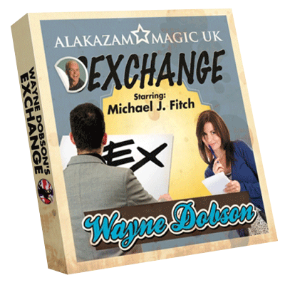 Waynes Exchange (DVD and Gimmick) by Wayne Dobson and Alakazam Magic - DVD