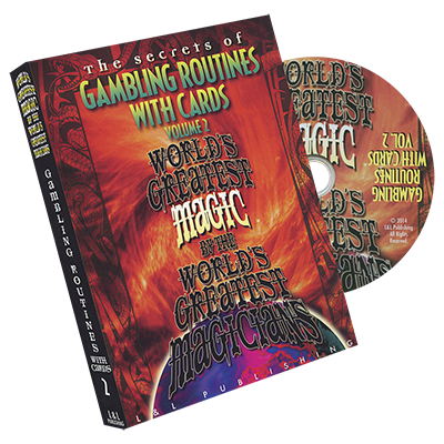 Gambling Routines With Cards Vol. 2 (Worlds Greatest) - DVD