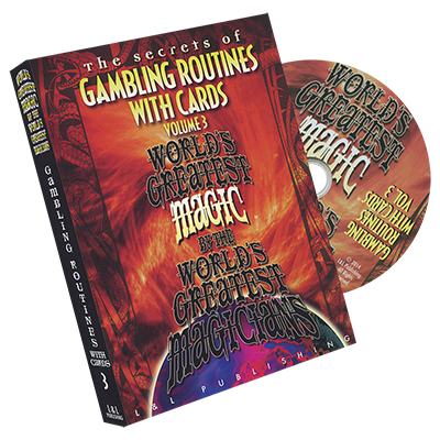 Gambling Routines With Cards Vol. 3 (Worlds Greatest) - DVD