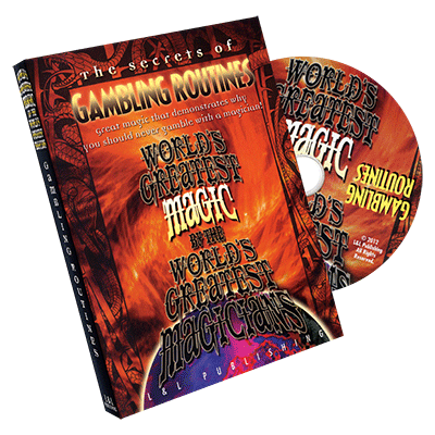 World's Greatest Magic: Gambling Routines Vol 1 - DVD