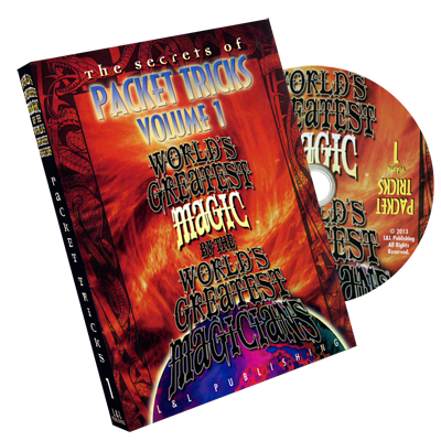World's Greatest Magic: The Secrets of Packet Tricks Vol. 1 - DVD