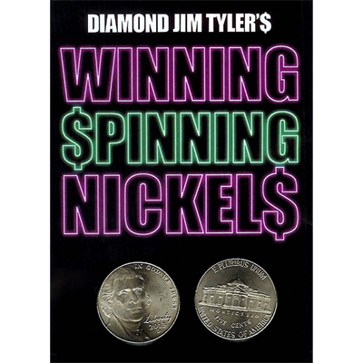 Winning Spinning Nickels (two pack) - Diamond Jim Tyler