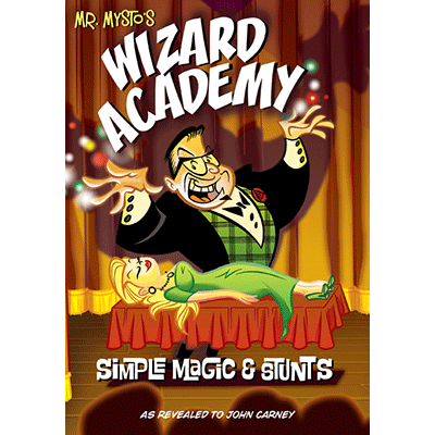 Wizard Academy - Mr. Mysto and John Carney - Libro de Magia