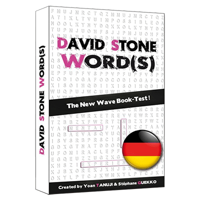 David Stone's Words (German Version) by So Magic Evenements - Trick