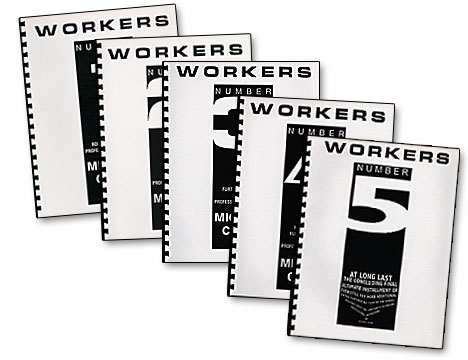 Workers Number 1 by Mike Close - Book