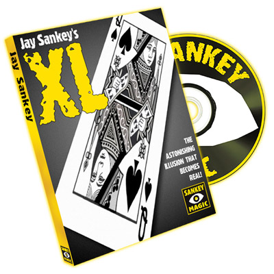 XL (with DVD) by Jay Sankey - Trick