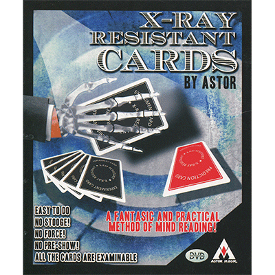 X-Ray Resistant Cards (with Marker) by Astor - Trick