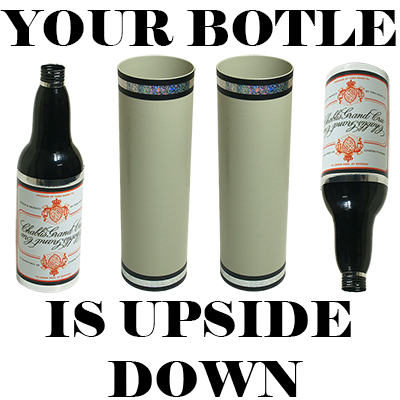 Your Bottle is Upside Down! - Tora Magic