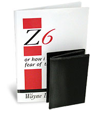 Z-6 Book with Wallet by Wayne Dobson - Trick